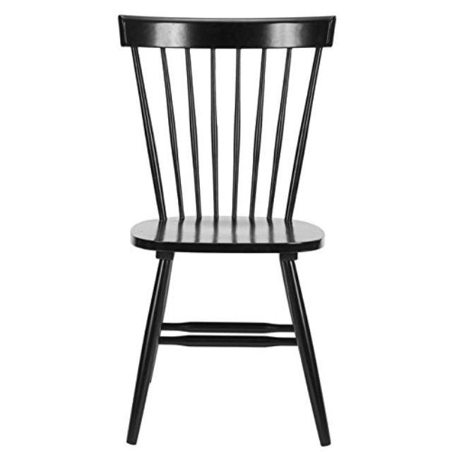 Farmhouse Black Spindle Side Chair