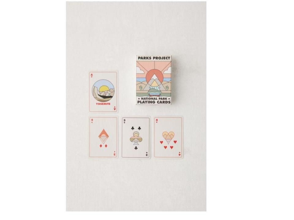 Minimalist National Park Playing Card Deck