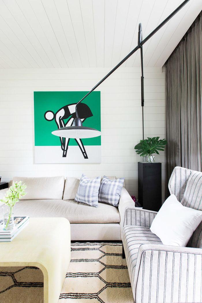Art in a rental space