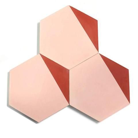 Clé Hex Clip Tile, Per Square Foot