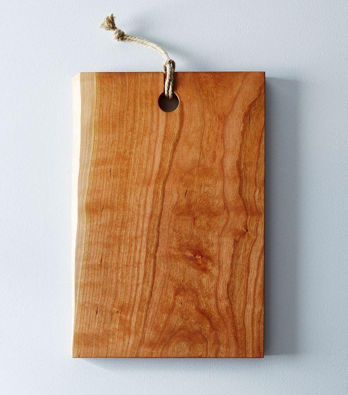 Yoav S Liberman Live-Edge Domestic Wood Serving & Cutting Board