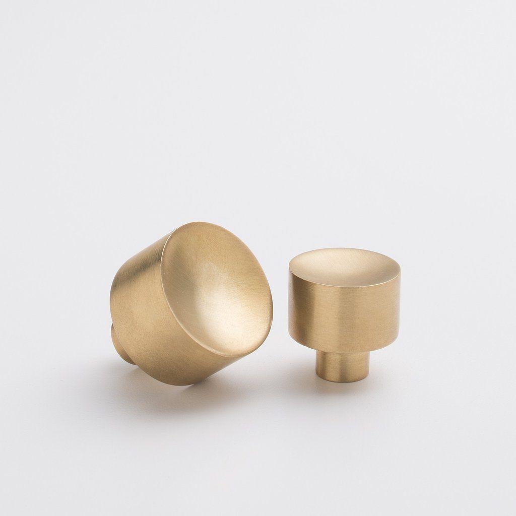 brass knobs