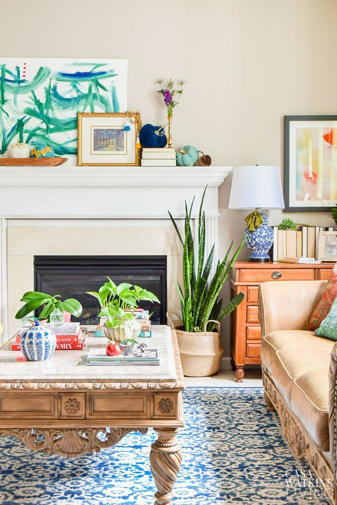 tips for fall decorating: plants