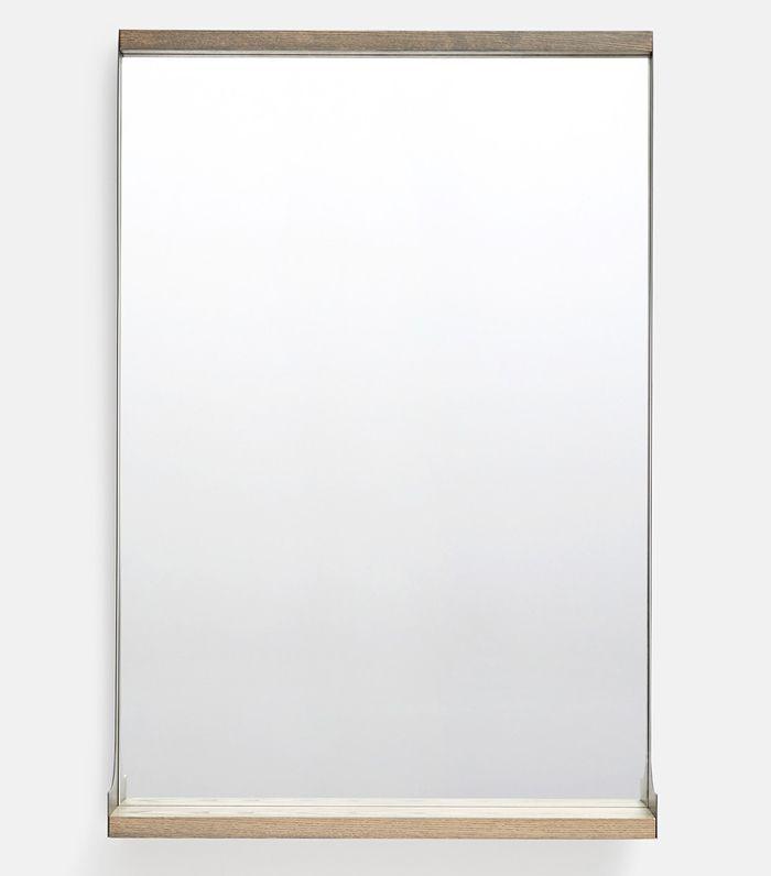 Tall Industrial Shelf Mirror