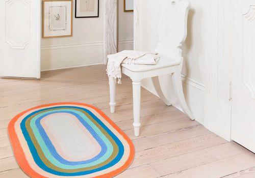 alfombra arcoiris