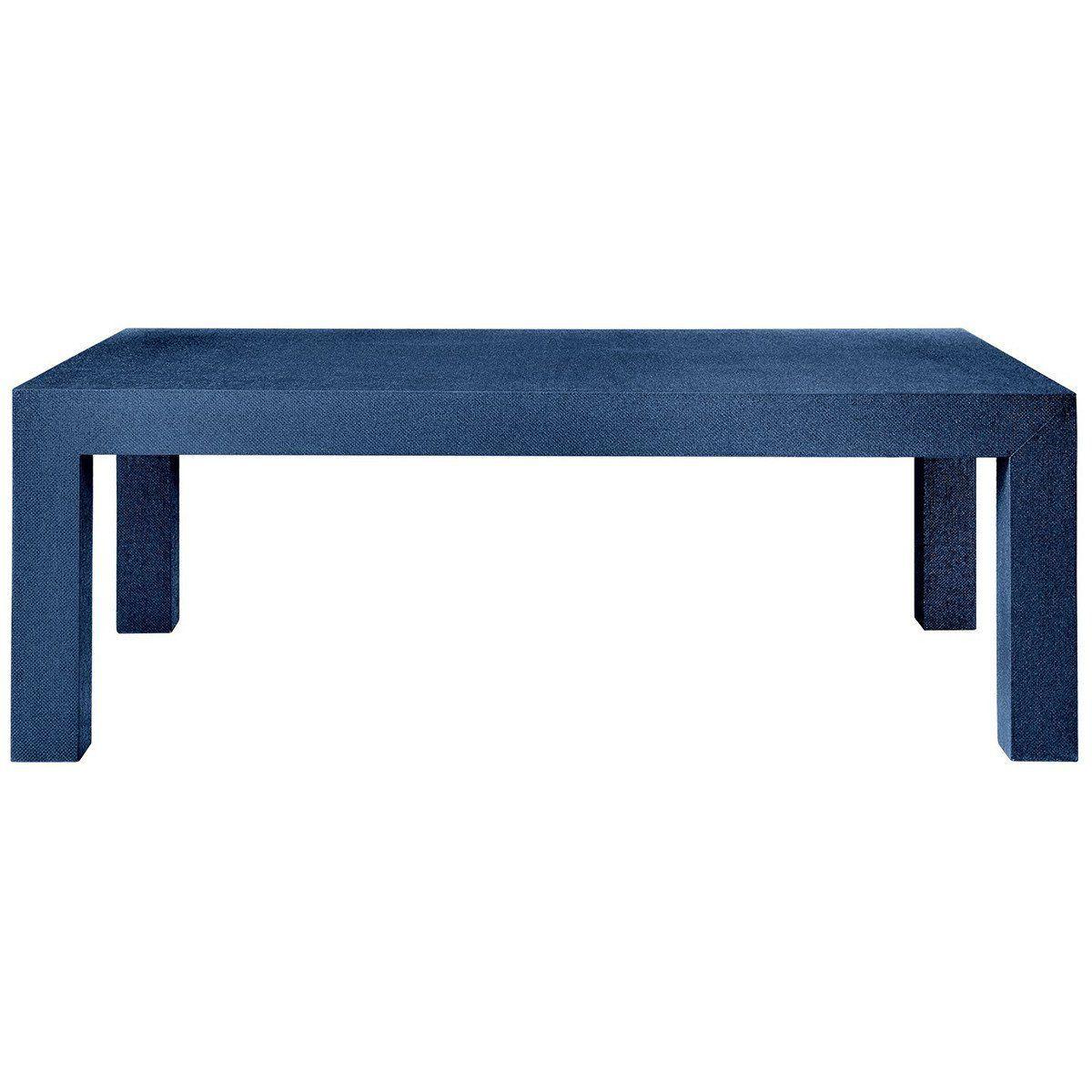 Mesa de centro azul moderna