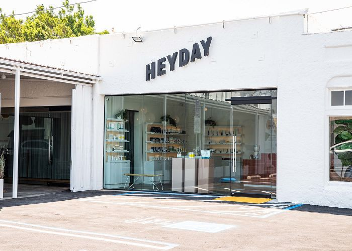 Heyday Los Angeles skincare studio exterior
