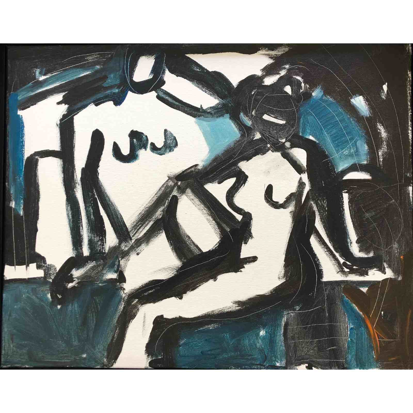 Anne Darby Parker Gestural Mood Painting