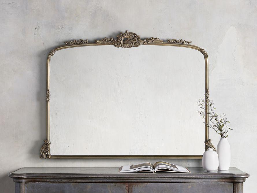 Arhaus Amelie Dresser Mirror in Gold