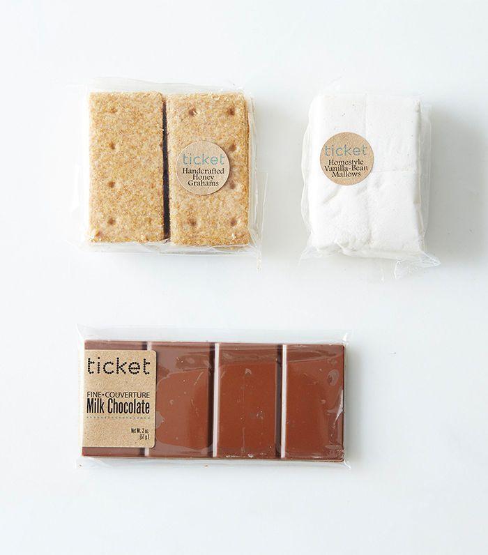 Ticket Chocolate DIY S'mores Kit