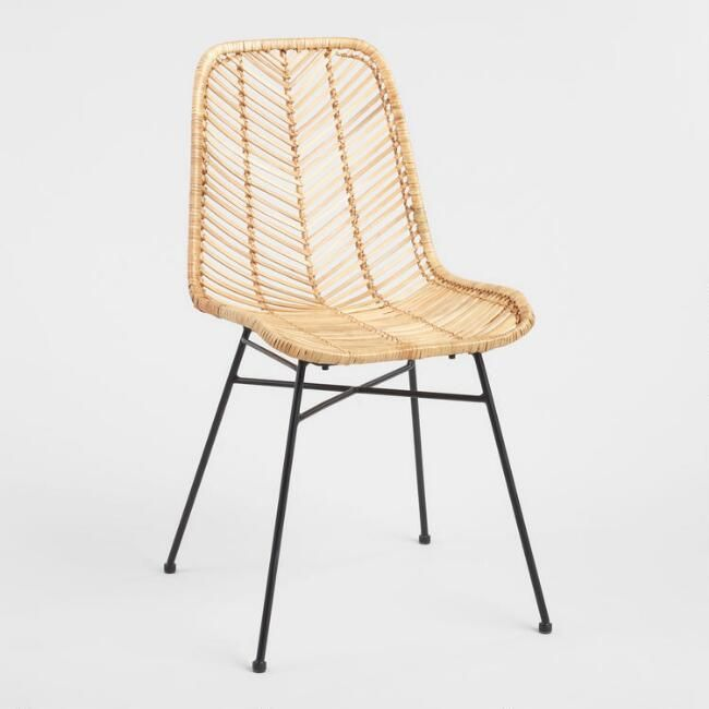 Cost Plus World Market Natural Wicker Loren Chair