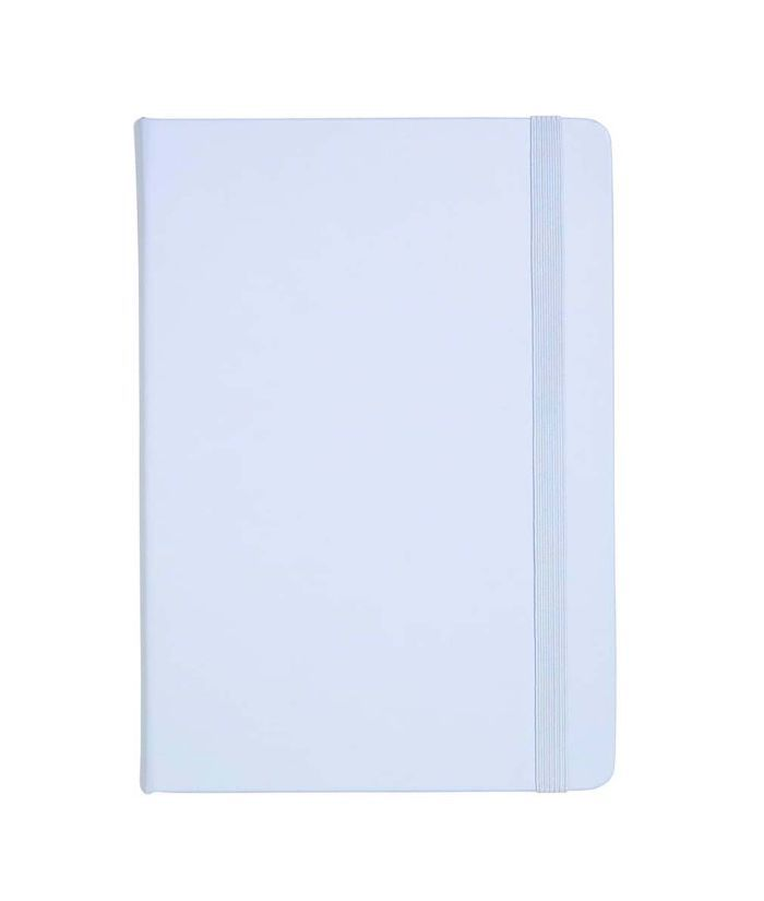 Kikki.k 'Time Is Now' Leather Notebook -