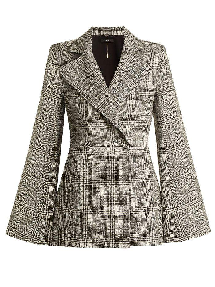 Ellery Boycott Prince of Wales-checked wool jacket