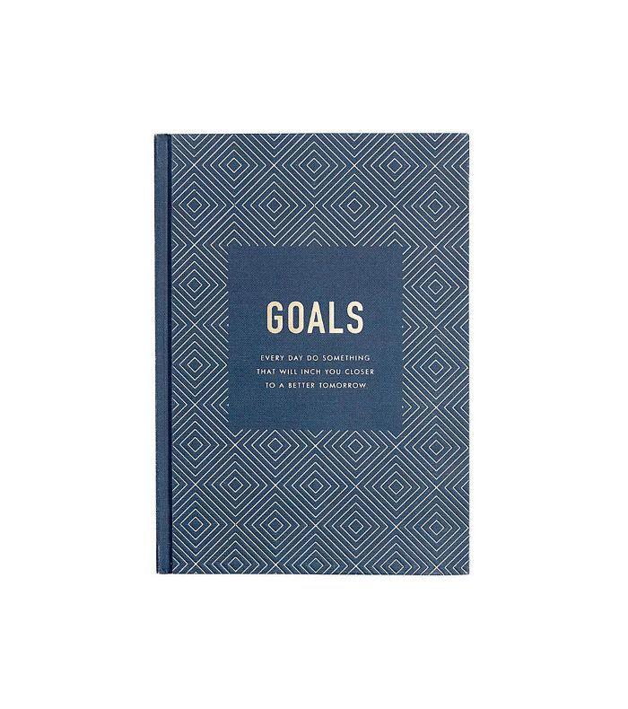 Goals Journal Inspiration hardback notebook