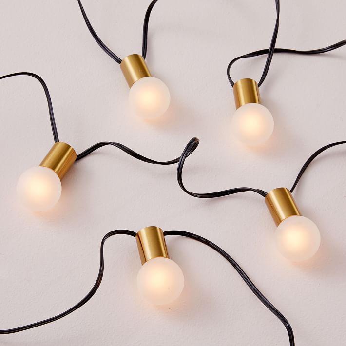 West Elm Simple String Lights