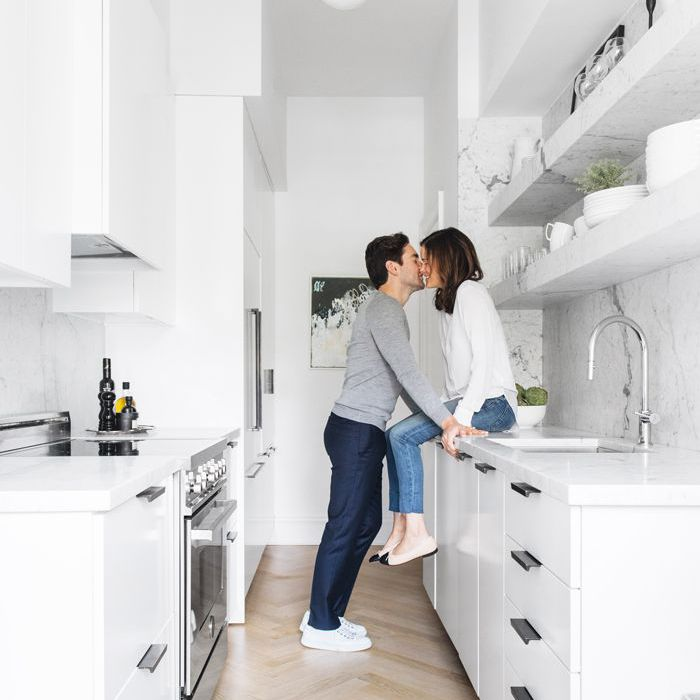 small kitchen ideas—The Everygirl Home Tour