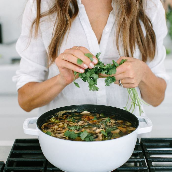 This Thai Chicken Soup Recipe Defines Healthy Comfort Food