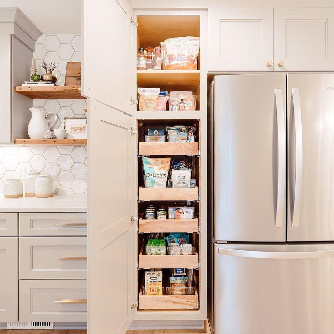 Small thin pantry