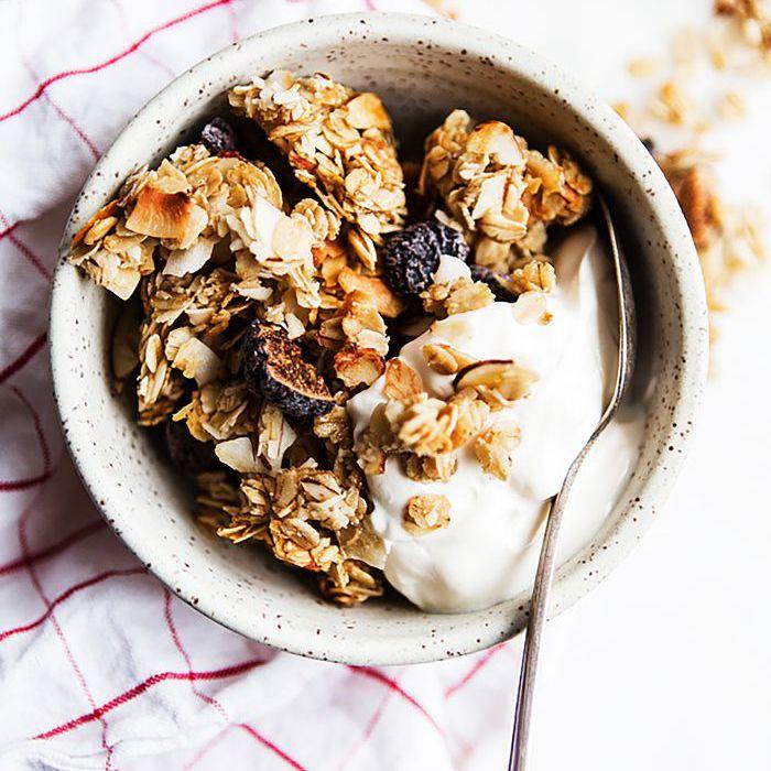granola de almendras