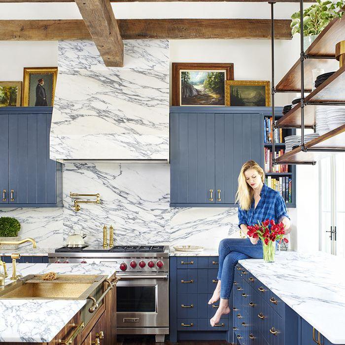 Brooklyn Decker—Marble Kitchen