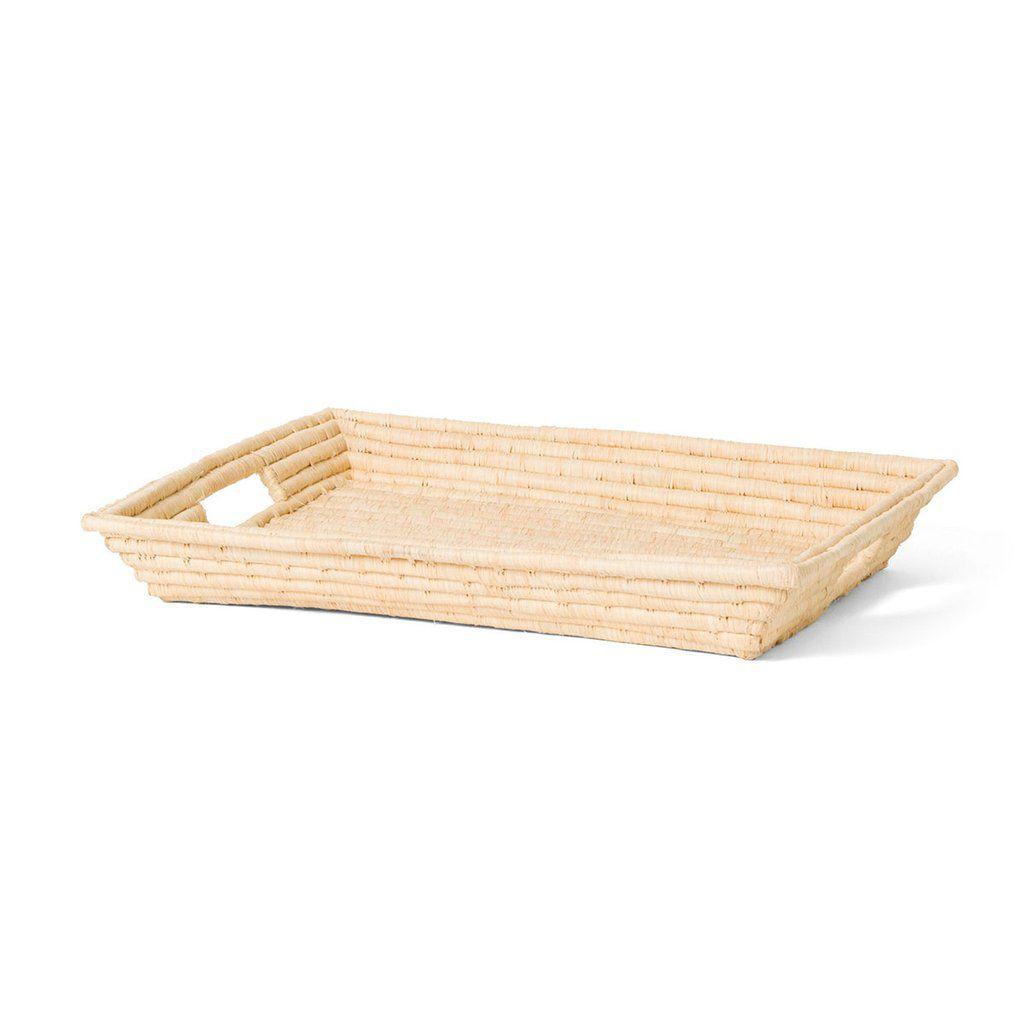 Raffia tray