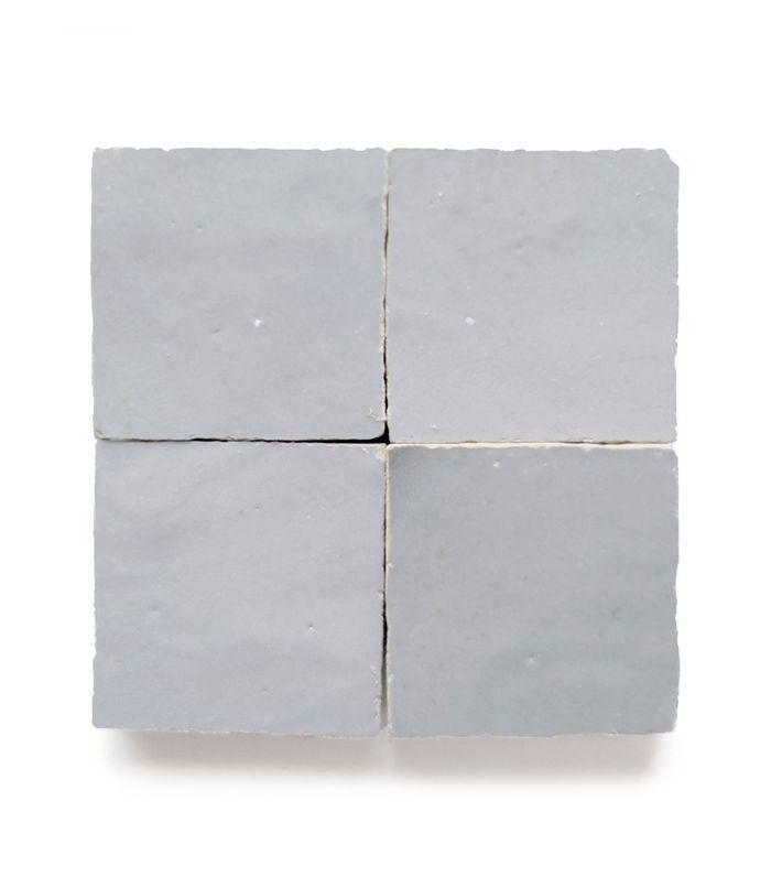 Clé Tile Tarnished Silver Zellige Tile