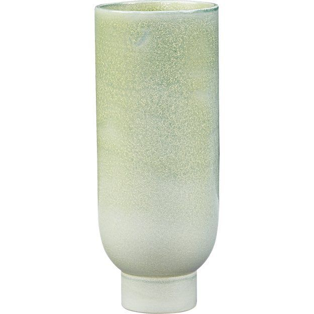 CB2 Canopy Small Light Green Vase