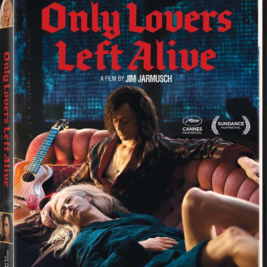 Solo los amantes quedan vivos DVD