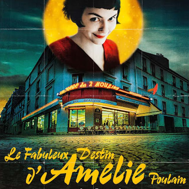 Amélie (2002) poster in French.