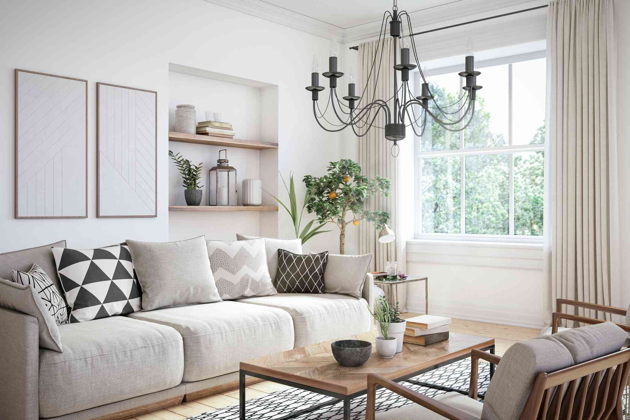 17 Monochromatic Living Rooms That Are Anything But Boring