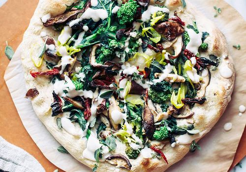 pizza with truffles
