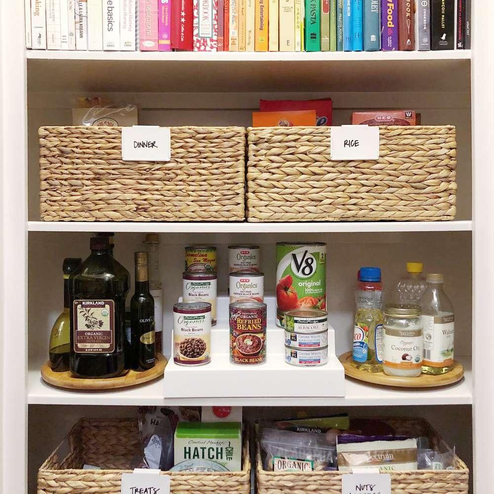 small kitchen organizing