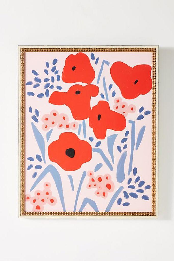 Flower Art—Cubicle Decor