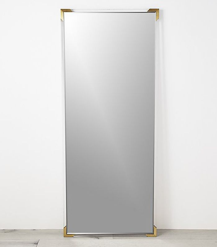 Demi Acrylic Floor Mirror 31.5