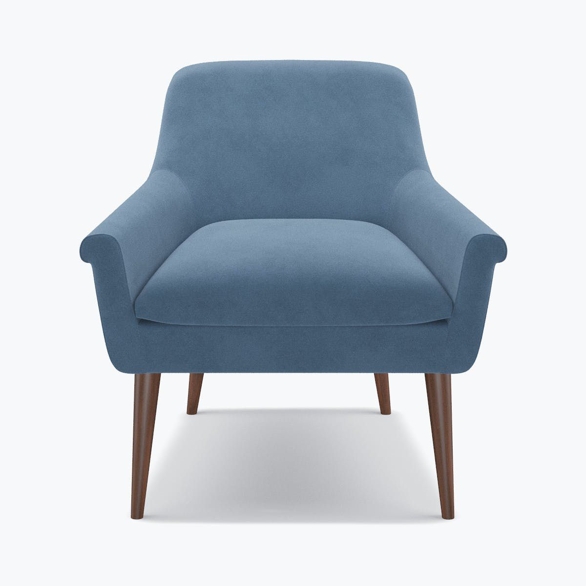 Cocktail Chair - Ocean Velvet