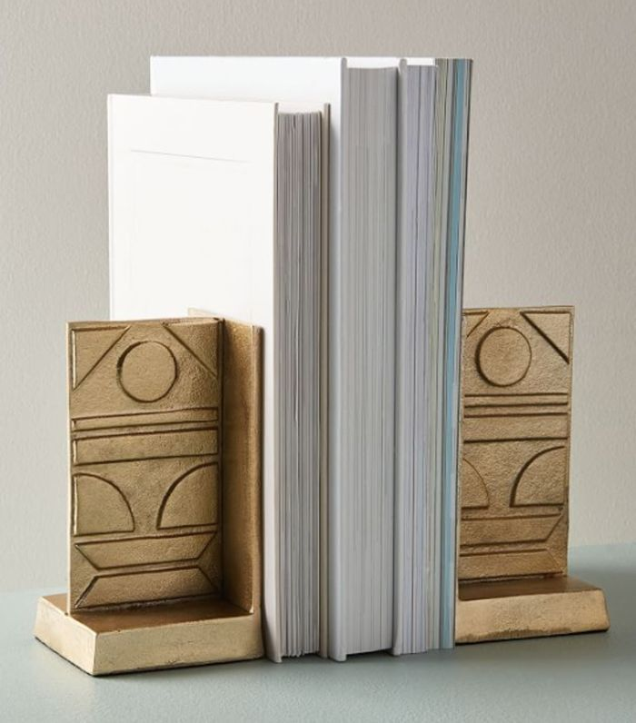 West Elm Pictograph Bookends