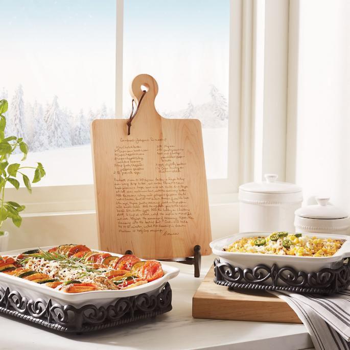 Frontgate Personalized Artisan Recipe Board