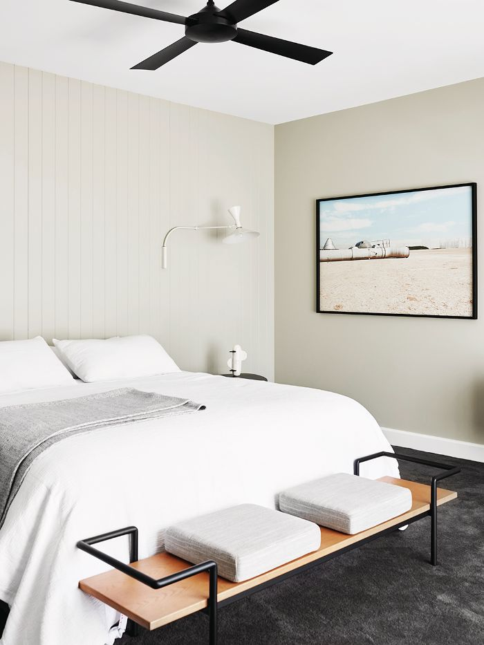 Bedroom Feng Shui: A made up bed