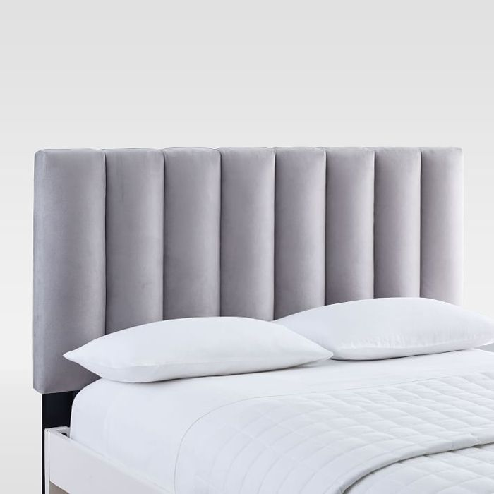 West Elm Channel Tufted Headboard