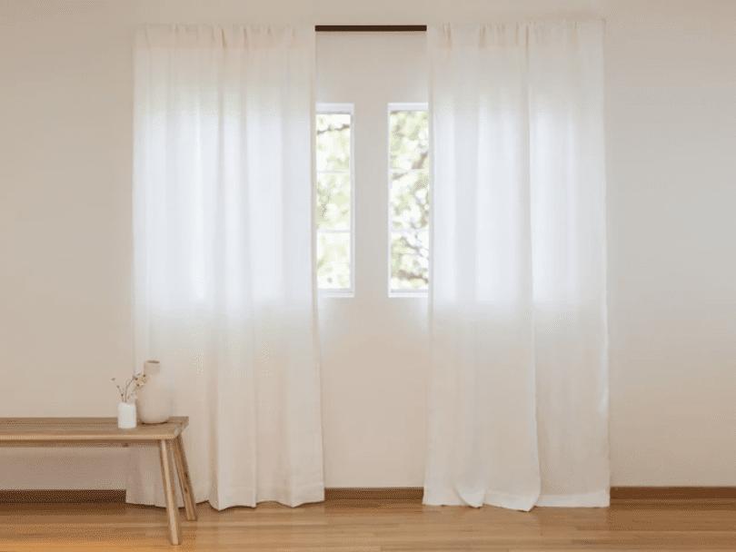 Parachute curtains