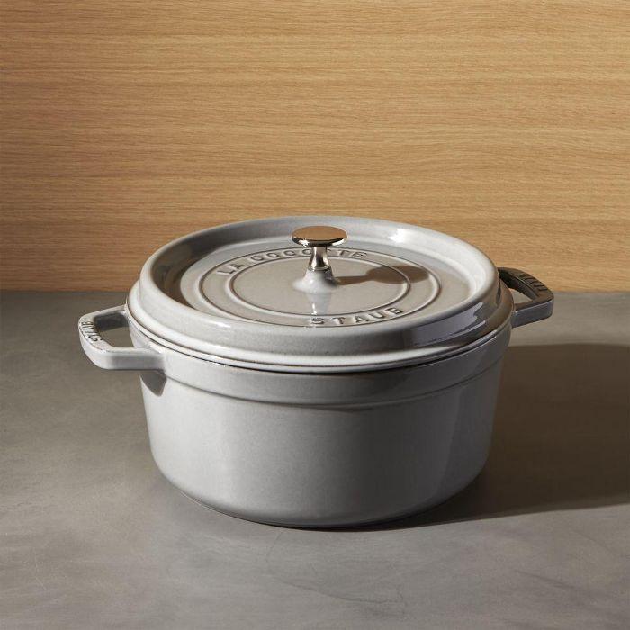 Staub 5.5-Qt Graphite Grey Cocotte