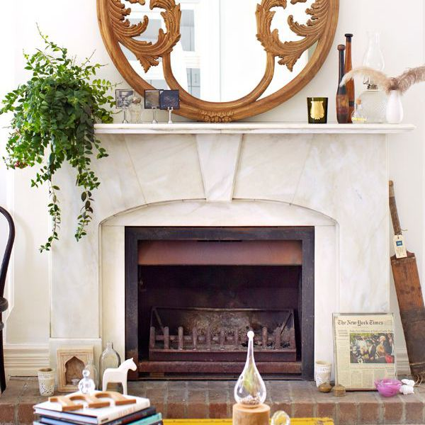 9 Stone Fireplaces We Re Eyeing