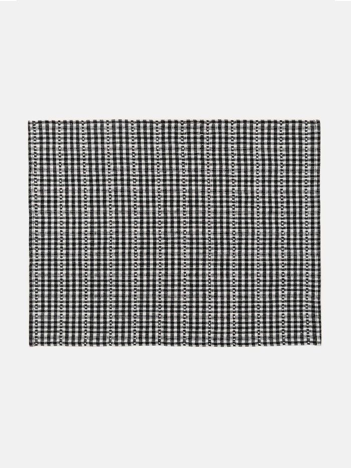 Heather Taylor Home Soho Black Placemat