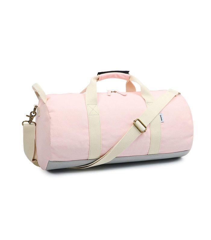 Oflamn Travel Barrel Duffle With Toiletry Bag Travel duffel bags