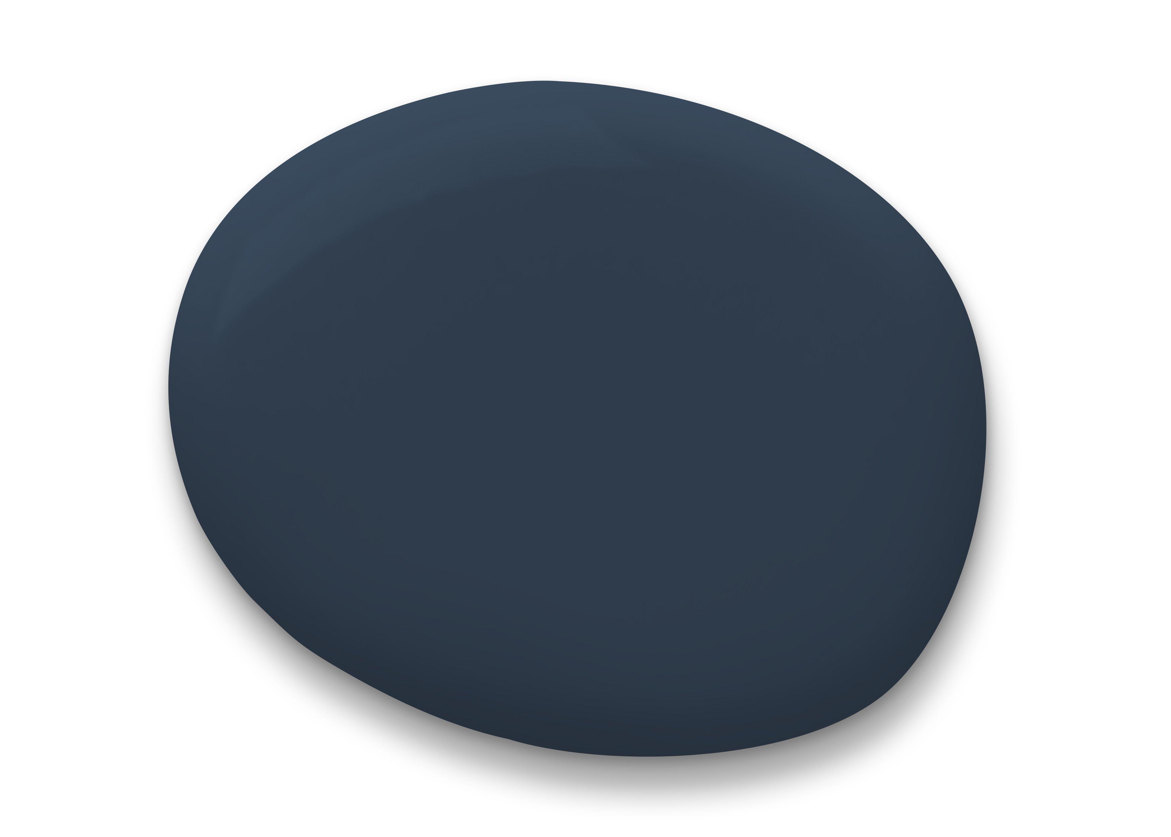 muestra de pintura azul marino