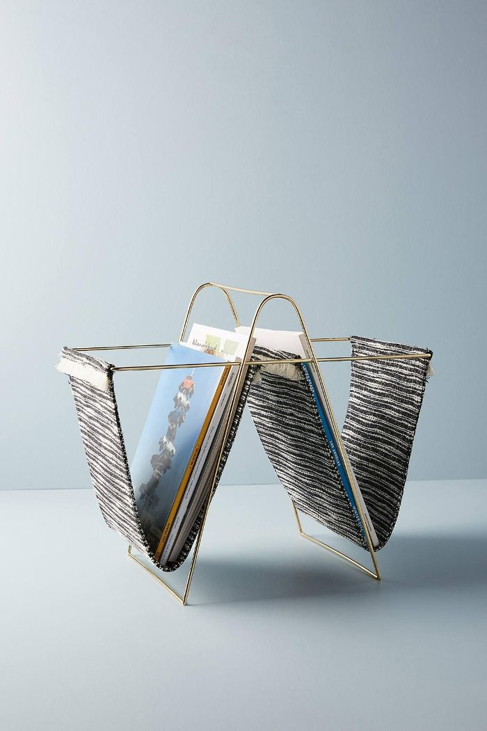 Anthropologie Joni Magazine Rack