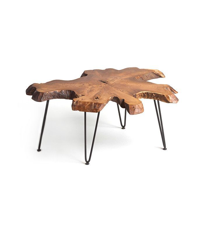 Cost Plus World Market Wood Slice Coffee Table