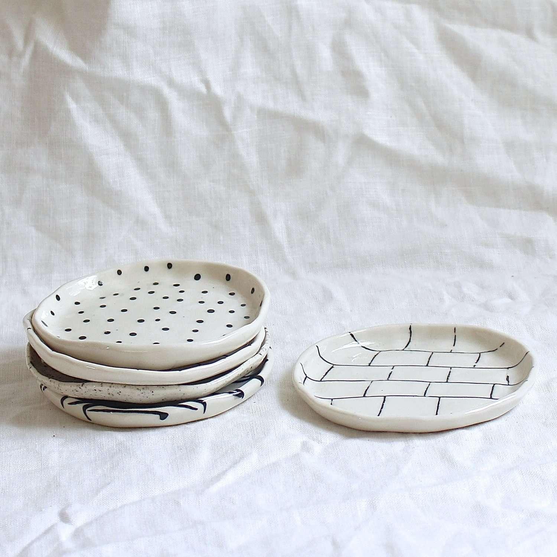 Catchalls by btw Ceramics.