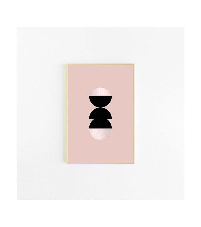 Visuelle Co. Mid Century Modern Art Print, Digital Download