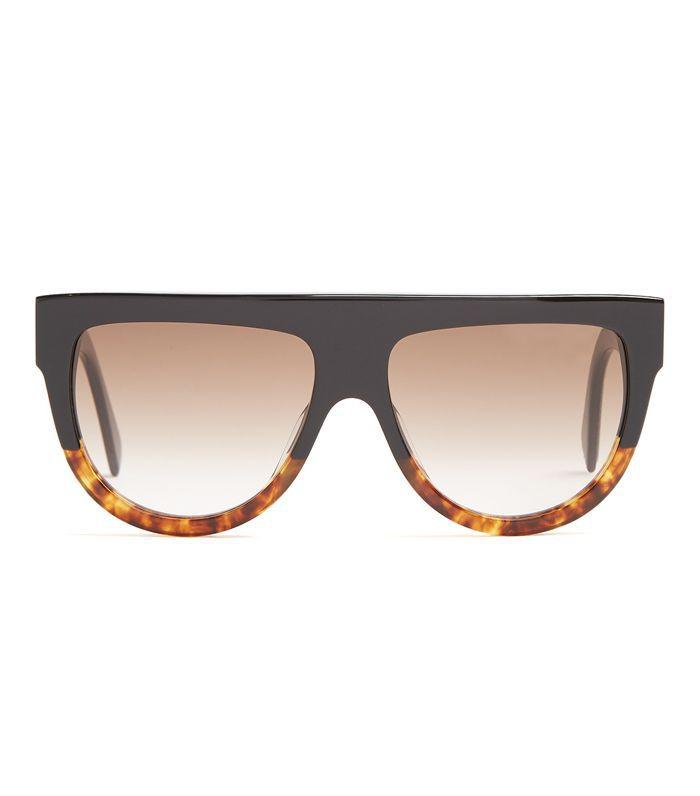 Shadow D-frame acetate sunglasses